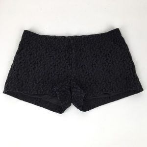 Nicole by Nicole Miller black lace shorts 8